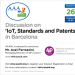"Aforo completo Charla-coloquio ""IoT, Standards and Patents"" en Barcelona"
